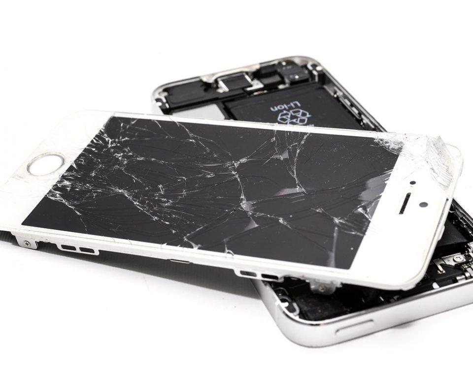 Se rompió la pantalla de mi móvil