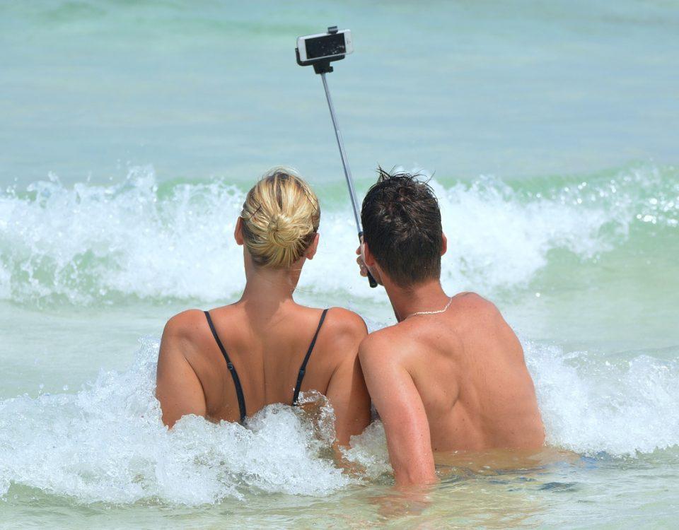 selfie con el móvil